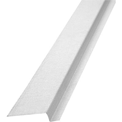 NorWesco 3/8 In. x 1/2 In. x 2-1/8 In. x 10 Ft. Mill Galvanized Ply Edge Z-Style Flashing