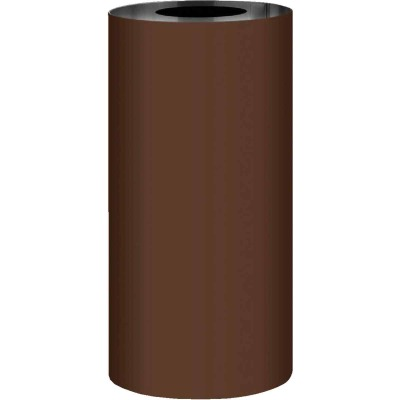 NorWesco 20 In. x 50 Ft. Brown Galvanized Roll Valley Flashing
