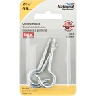 National #8 Zinc Finish Ceiling Hook (3 Pack) Image 2
