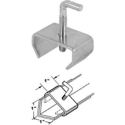 Prime-Line 1 In. Steel Bed Rail Clamp (2-Pack)