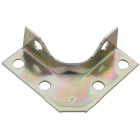 National Catalog V114 Series 2 In. x 5/8 In. Zinc Corner Brace (4-Count) Image 1