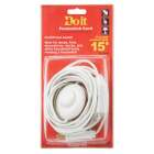 Do it 15 Ft. 18/2 White Extension Cord with Foot Switch Image 3