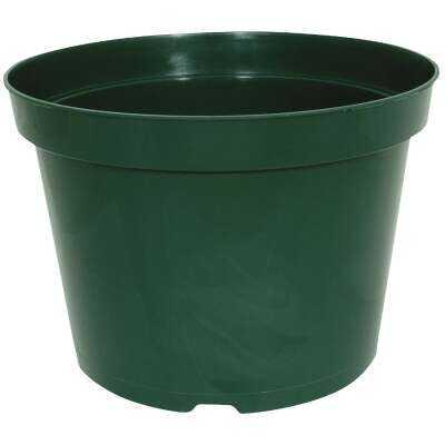 Myers 6 In. H. x 8 In. Dia. Green Plastic Flower Pot